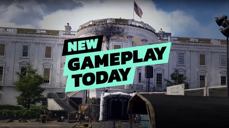 New Gameplay Today – The Division 2's Open World And Endgame