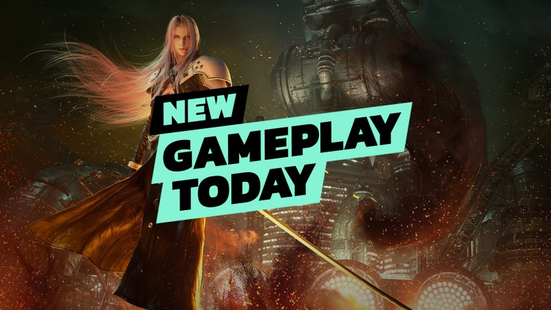 New Gameplay Today — Final Fantasy 7 Remake