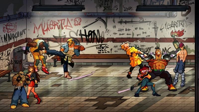Streets of Rage 4 Arrives On April 30