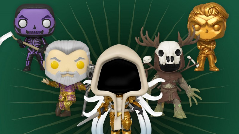 The Next Funko Pop Video Game Line Features Skyrim, The Witcher 3, Diablo, And More