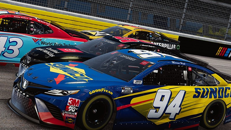 First Gameplay Action Of NASCAR Heat 5