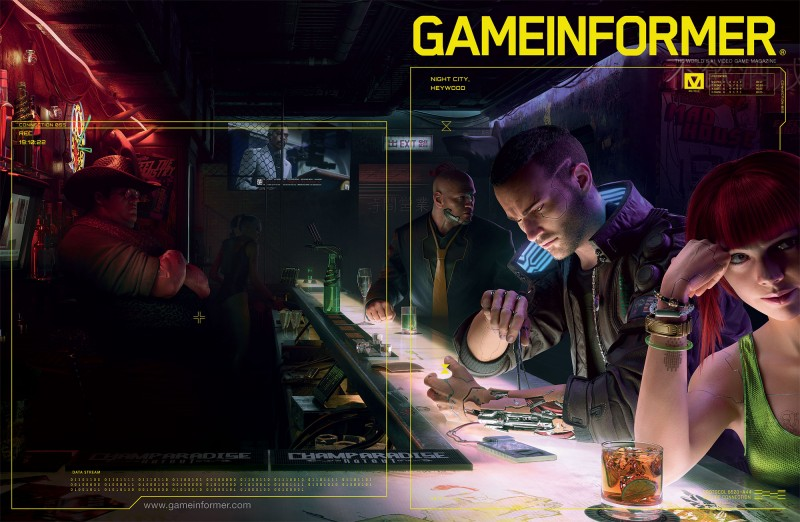 The Cyberpunk 2077 Digital Issue Is Now Live