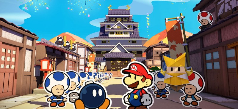 Paper Mario: The Origami King Folds Familiar Elements Into An All-New Adventure