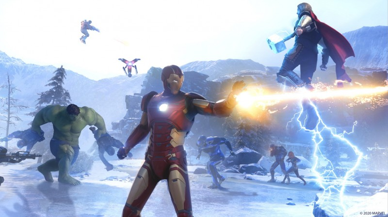 Here's What You Can Do In The Marvel's Avengers Beta