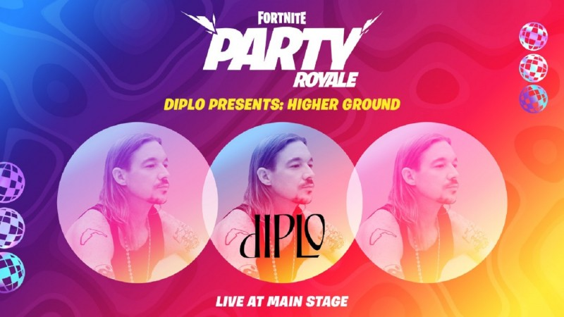 Diplo Returns To The Fortnite Stage