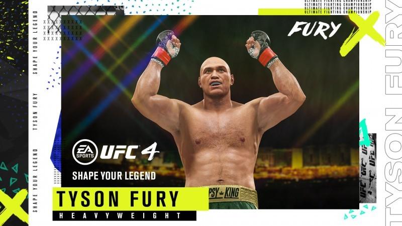 Heavyweight Boxing Champions Tyson Fury And Anthony Joshua Are EA Sports UFC 4 Pre-order Bonuses