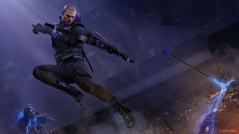 Hawkeye Is The First Post-Launch Hero For Marvel's Avengers