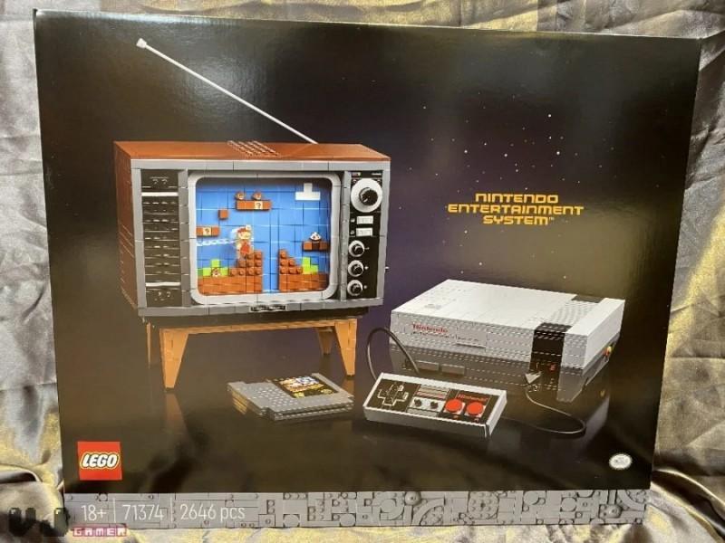 Lego Teases NES Building Kit, Images Of The Set Immediately Leak