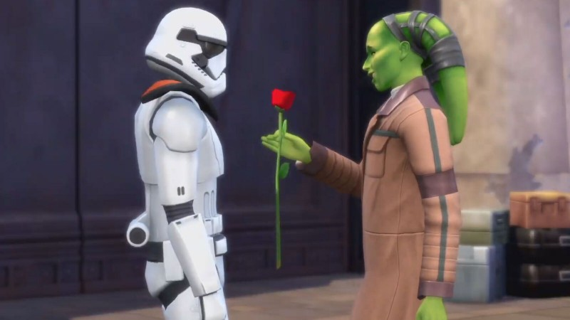 Star Wars Is Coming To The Sims 4