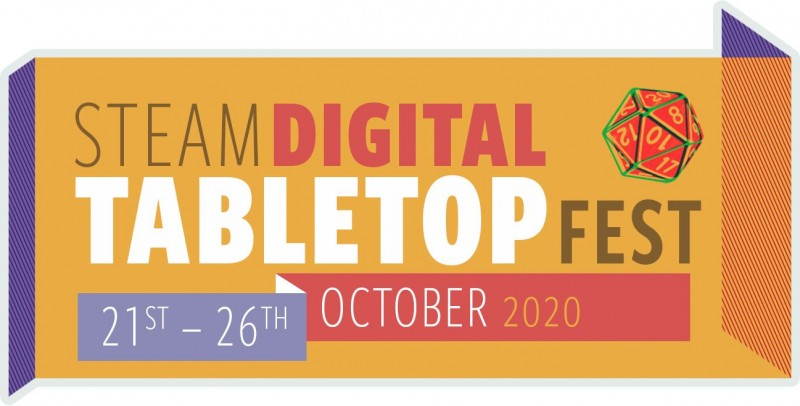 Steam Digital Tabletop Festival Coming In October