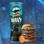 Pringles Unveils Limited Edition, Halo-Inspired Moa Burger Flavor
